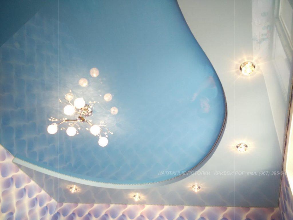 Купить точечные светильники с натяжным потолком