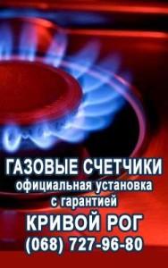 Газовые счетчики Кривой Рог